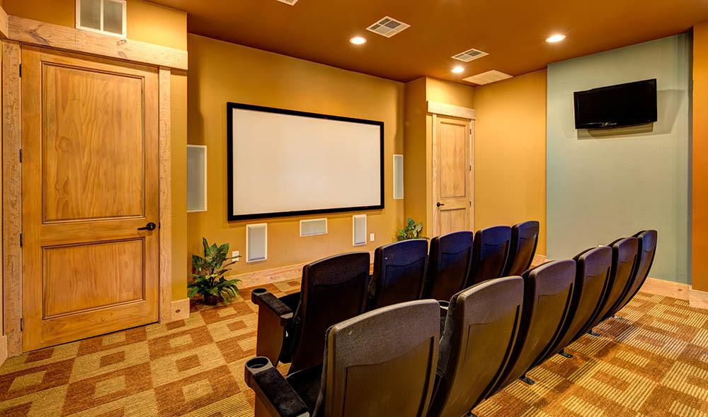 Enjoy a movie with family and friends at Marquis at Canyon Ridge, Austin