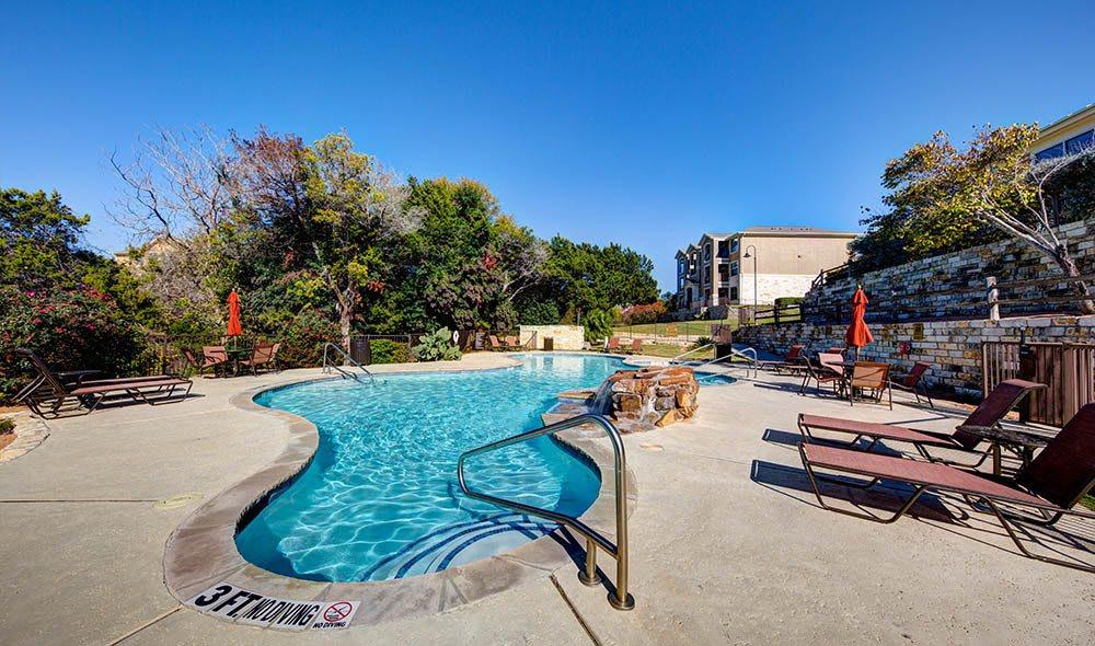 Swimming pool at Marquis at Canyon Ridge