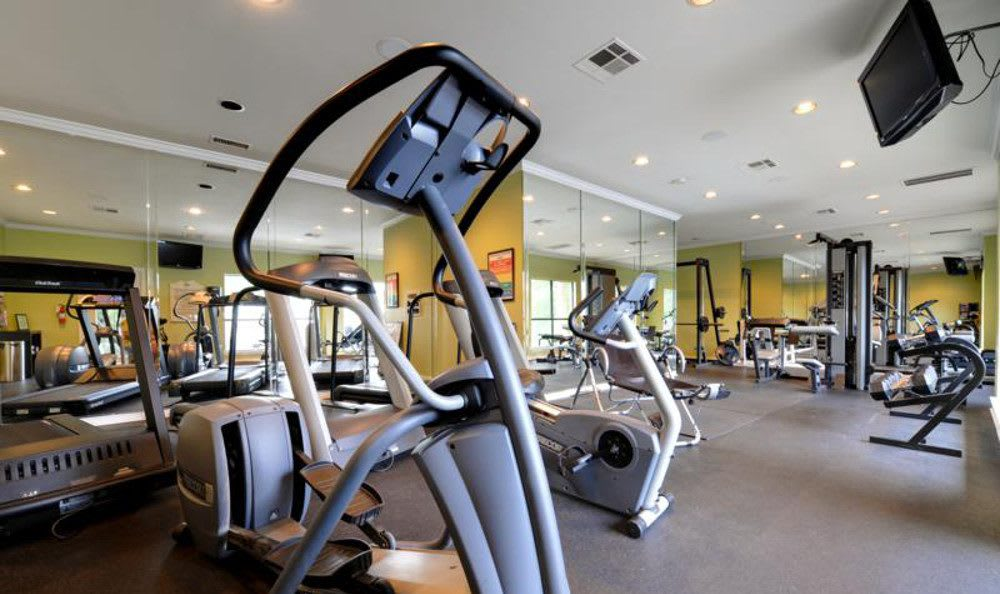 Fitness center at Marquis at Caprock Canyon in Austin, Marquis at Caprock Canyon