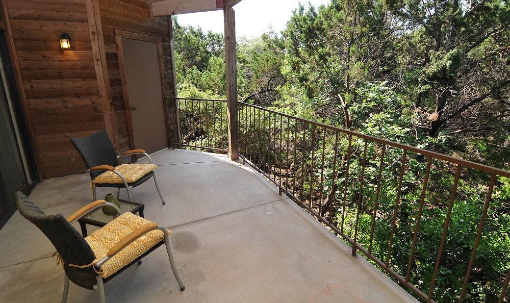 Patio at Marquis at Caprock Canyon