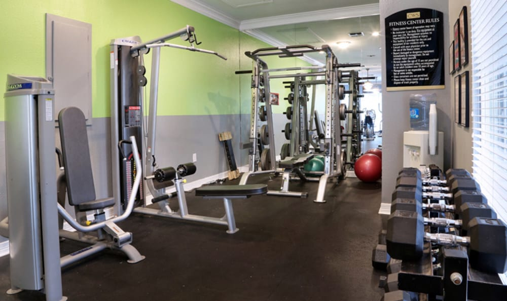 Fitness center at Marquis at Ladera Vista
