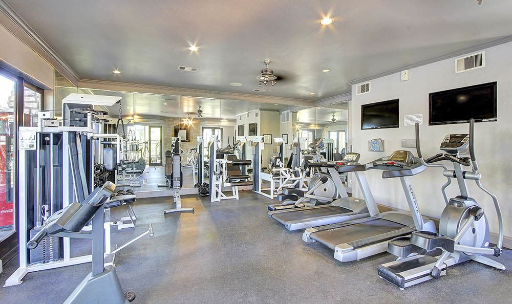 Fitness center at Marquis at Treetops