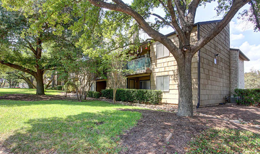 Exterior of the apartments for rent in Austin, TX