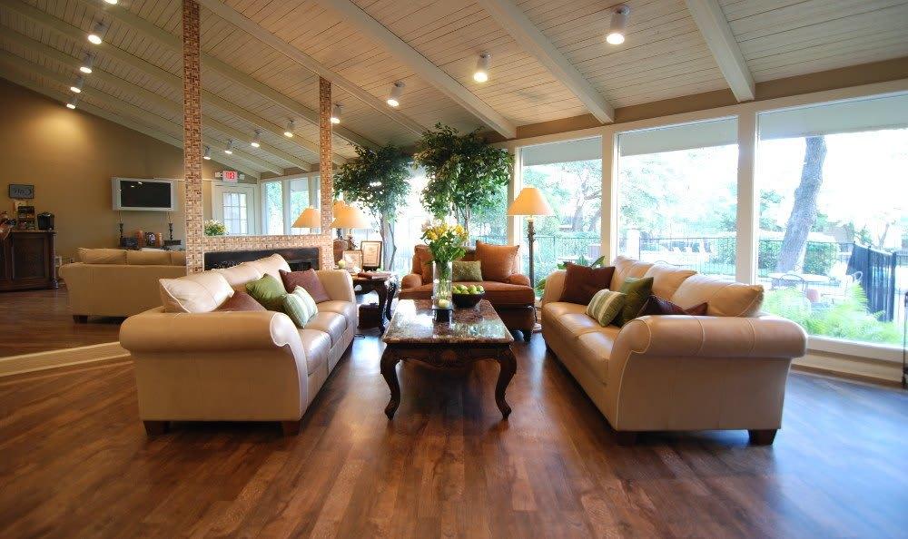 Relax in the lobby at Northwest Hills in Austin, Northwest Hills
