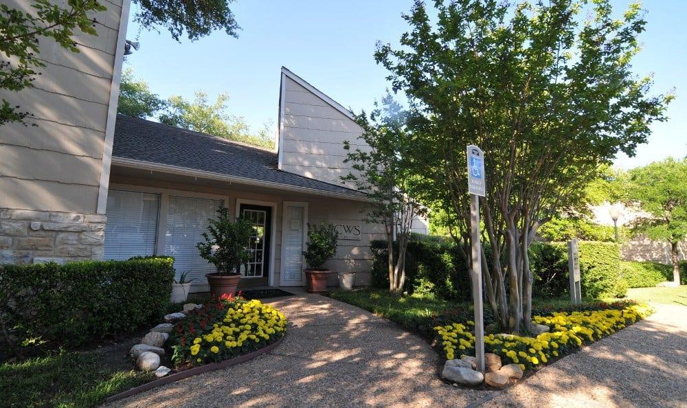 Entrance to Northwest Hills in Austin, Northwest Hills