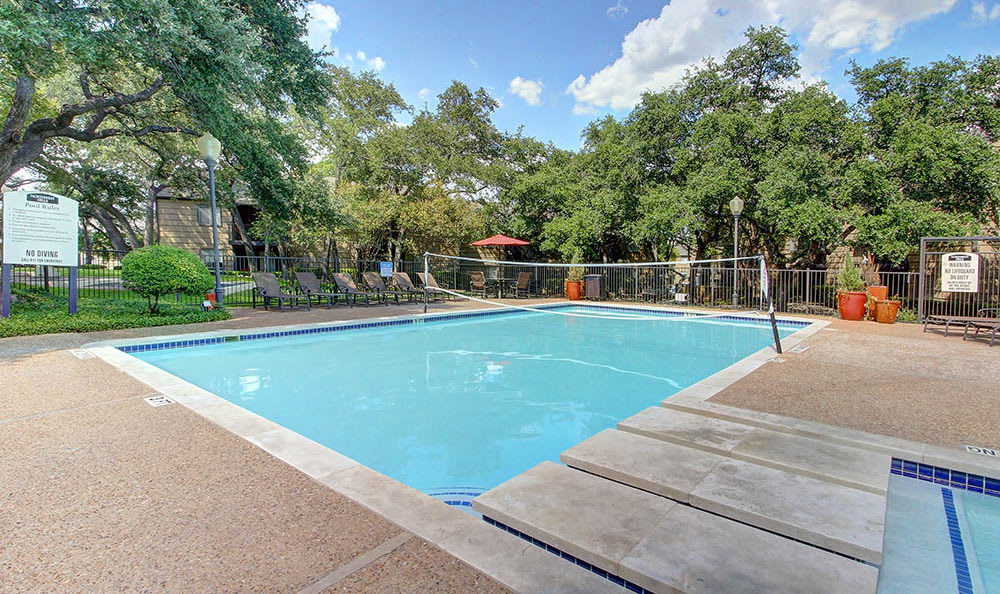 Relax at the swimming pool at Northwest Hills in Austin, Northwest Hills