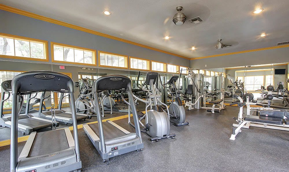 Fitness center at Marquis at Deerfield