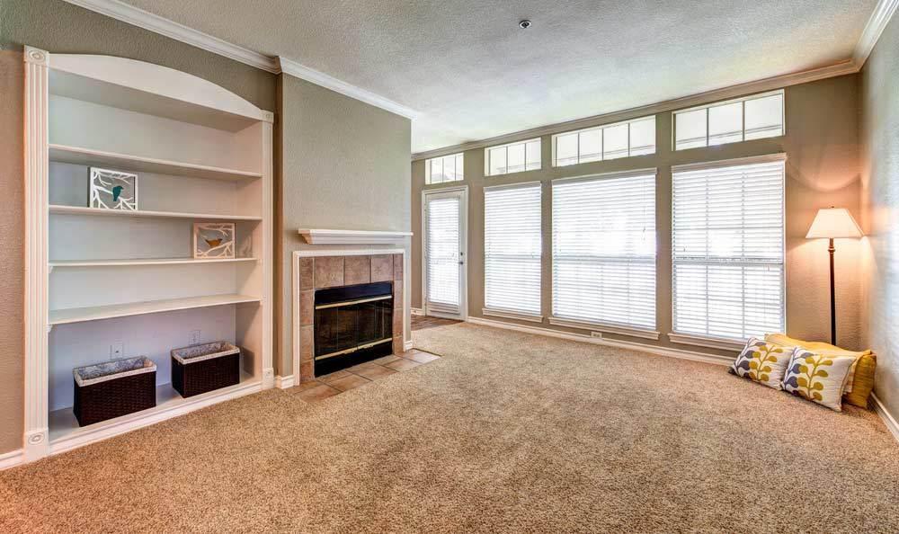 Living room at Marquis at Deerfield