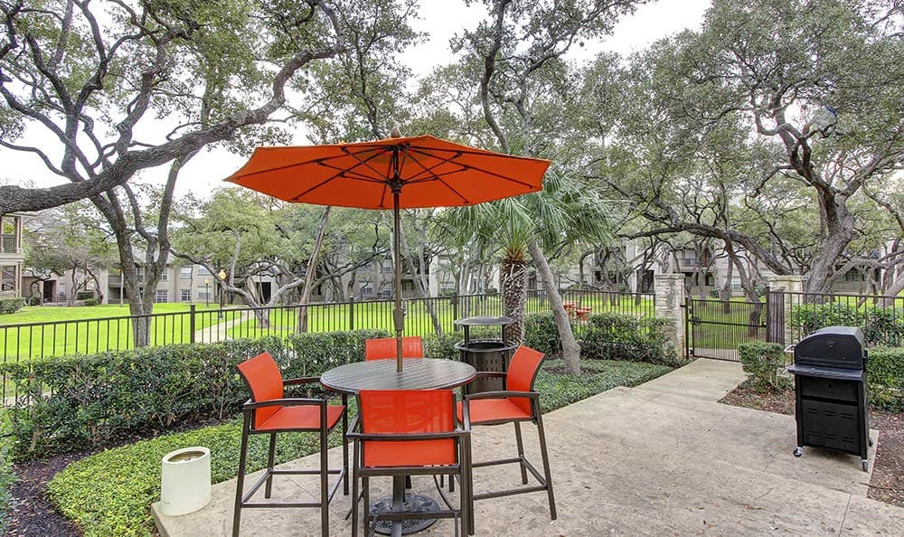 Enjoy outdoor areas at Marquis at Deerfield