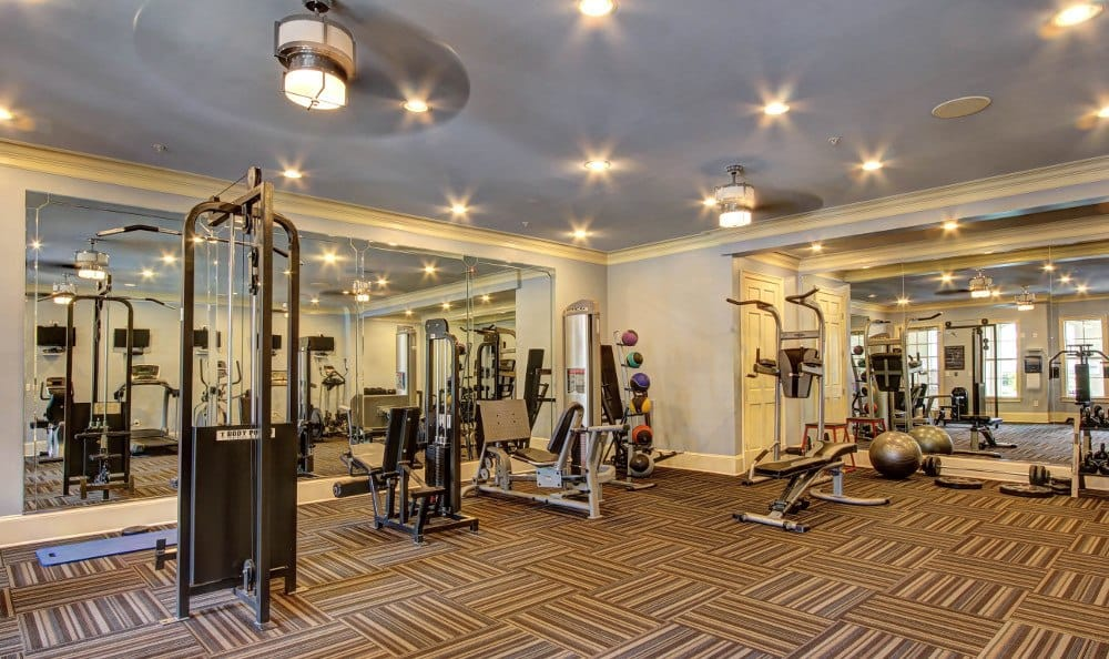 Fitness center at The Marquis on Berkeley