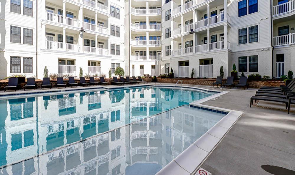 Relaxing pool at The Jane Atlanta