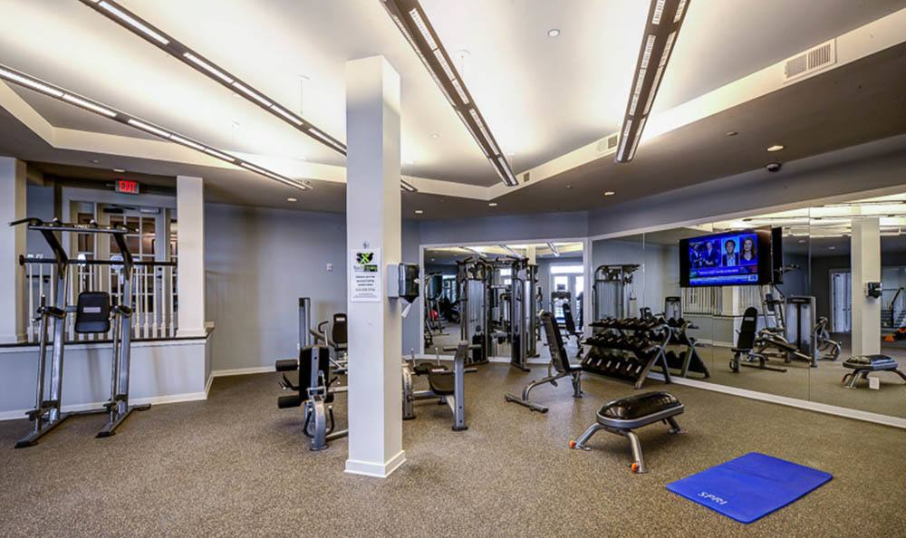 State of the art fitness center of The Jane Atlanta
