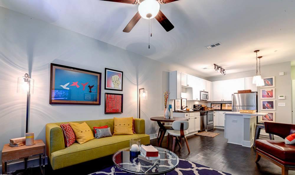 Living space of The Jane Atlanta