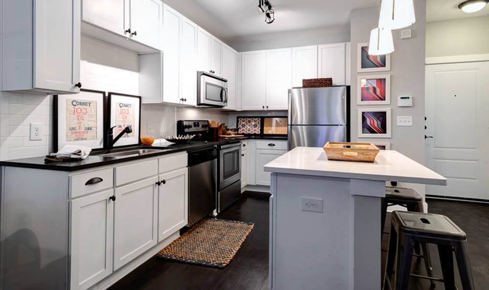 Comfortable kitchen of The Jane Atlanta