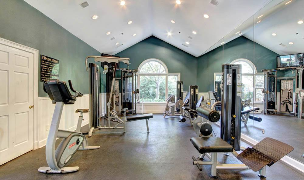 Impeccable gym offered at The Marquis at Sugarloaf