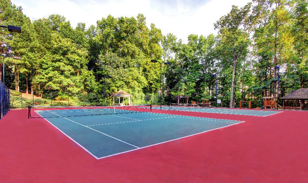 Tennis court offered at The Marquis at Sugarloaf