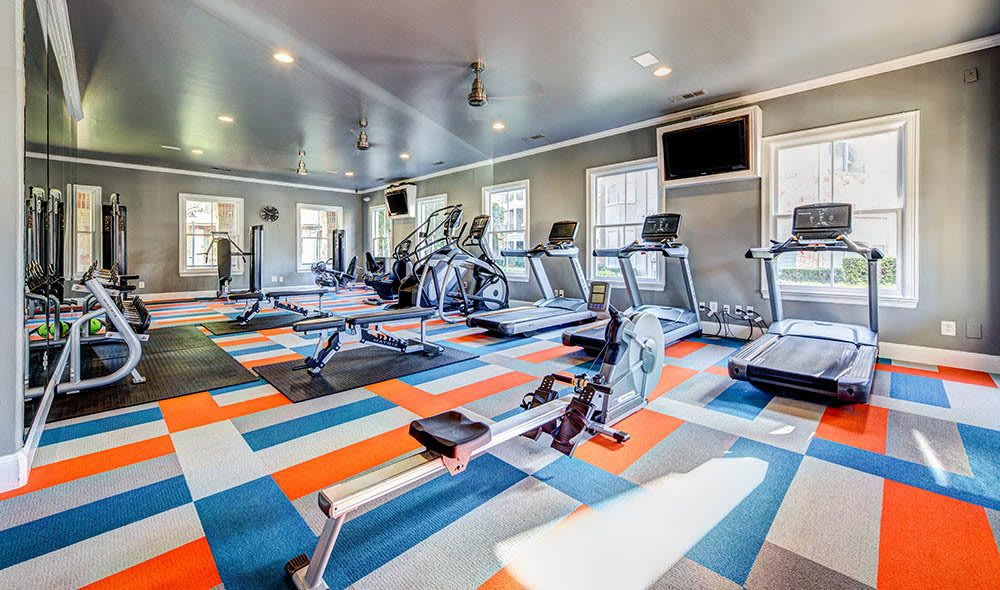 Workout in the exclusive gym of Marquis at Bellaire Ranch