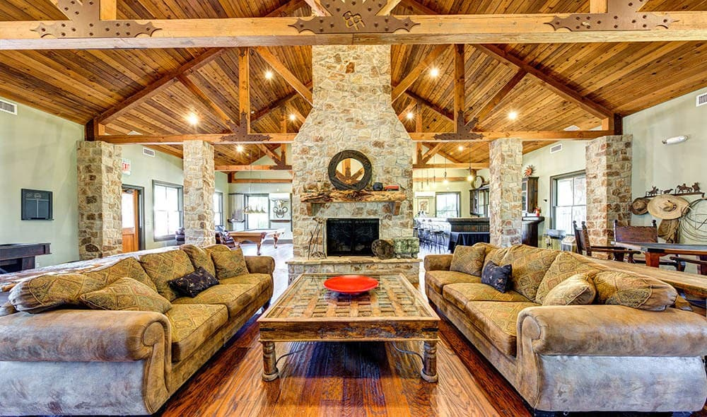 Community clubhouse at Marquis at Bellaire Ranch