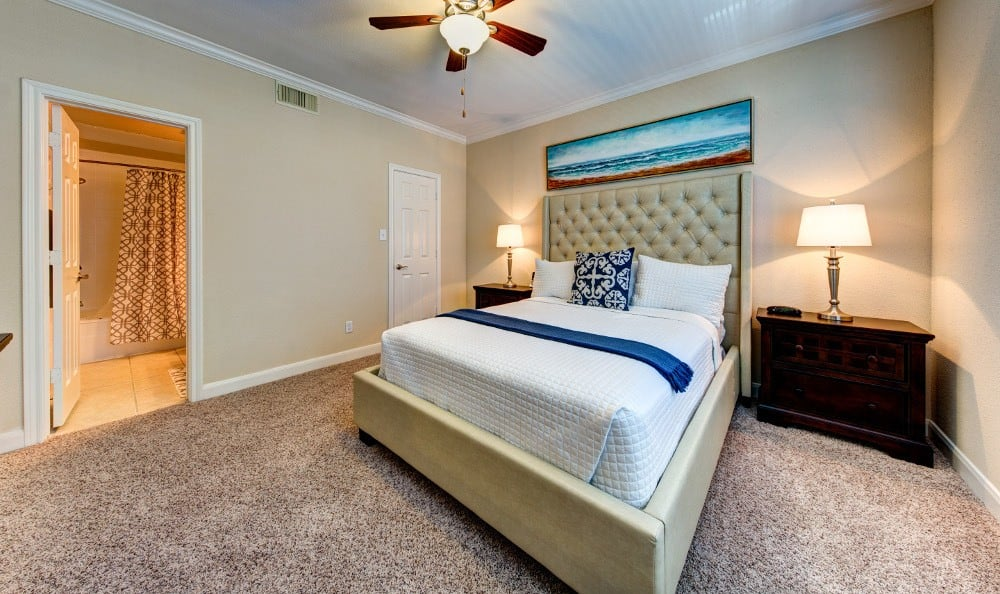 An example bedroom for rent at Marquis on Memorial