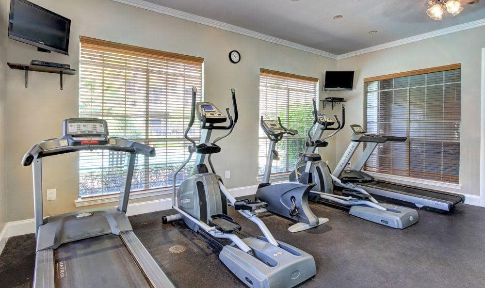 Exercise facility at apartments in Houston, TX
