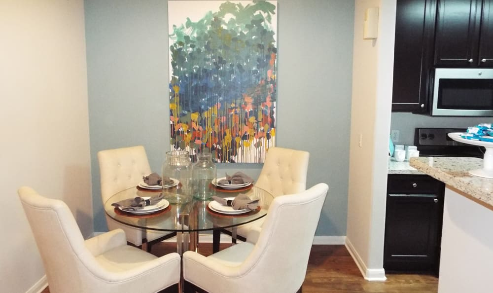 Model Dining Room at Marquis on Westheimer