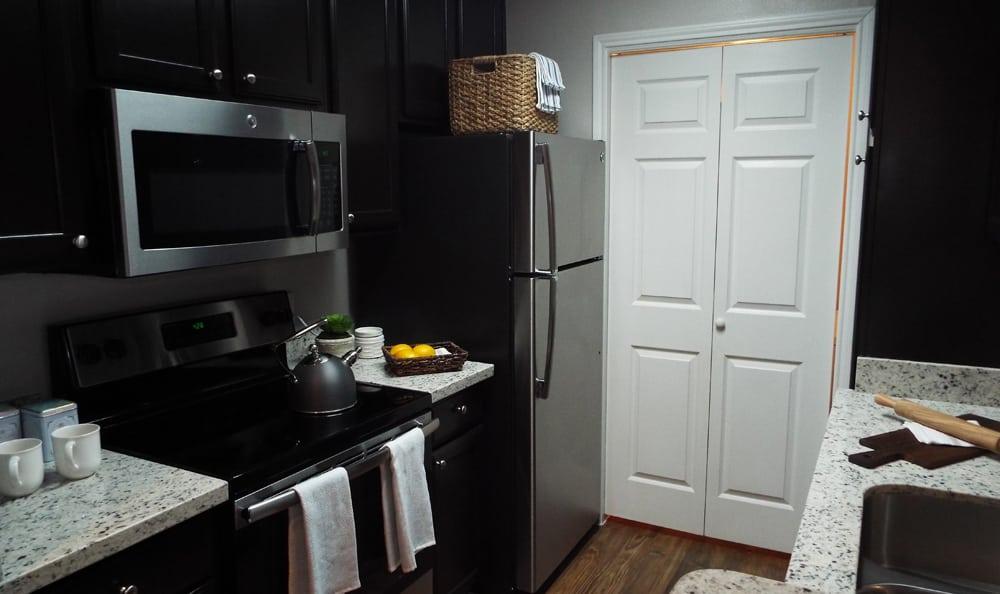 Modern Kitchen at Marquis on Westheimer