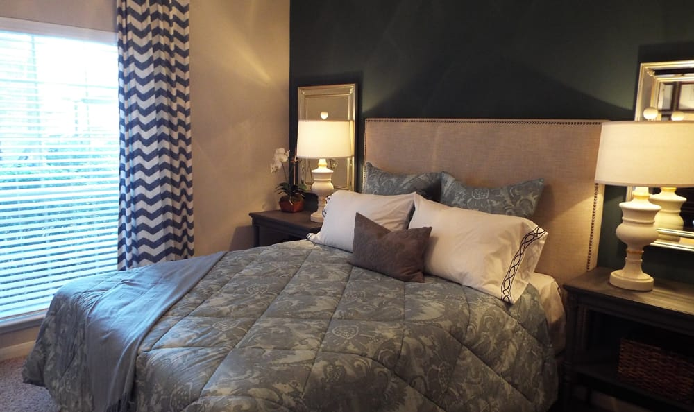 Model Bedroom at Marquis on Westheimer