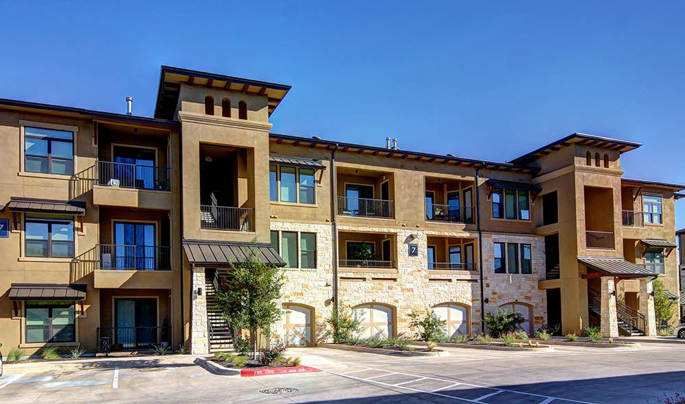 Apartment homes of The Marquis at Barton Trails
