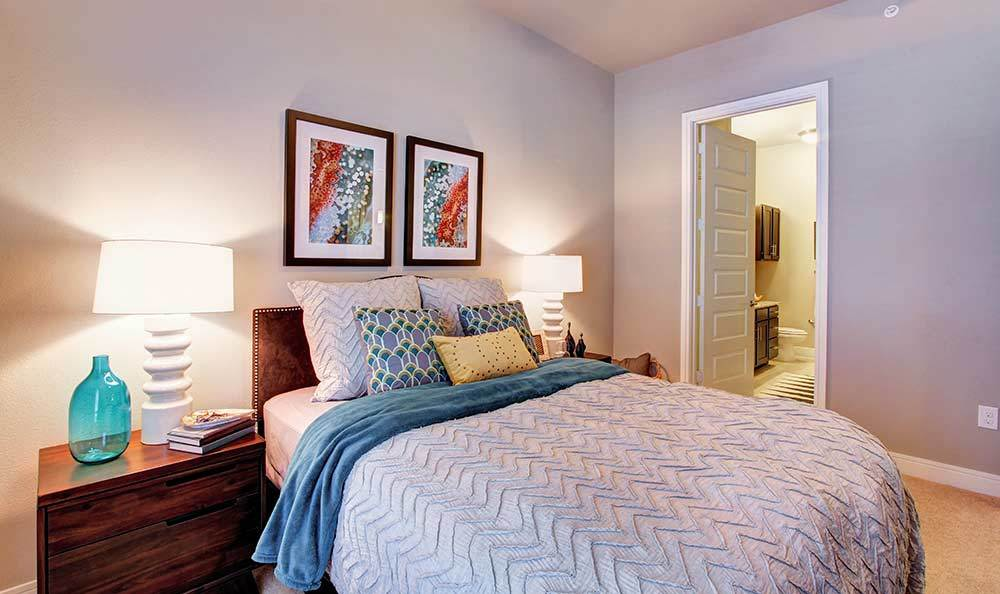 Bedroom at The Marquis at Barton Trails
