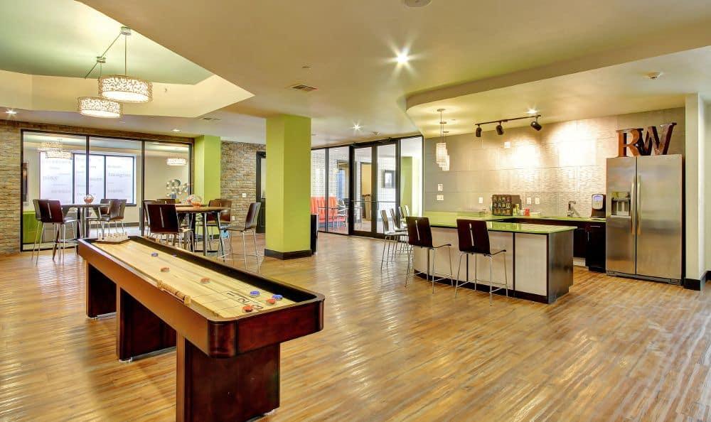 kitchen at apartments in Austin, TX