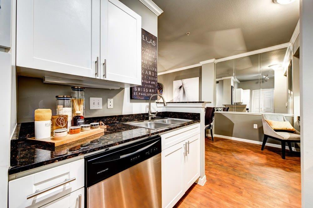 Kitchen at Marquis at Texas Street, Dallas