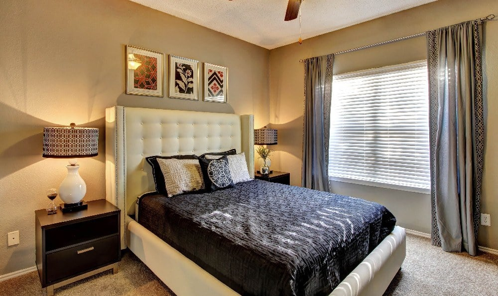 Relax at night in your spacious bedroom at Marquis at Legacy in Plano, Marquis at Legacy