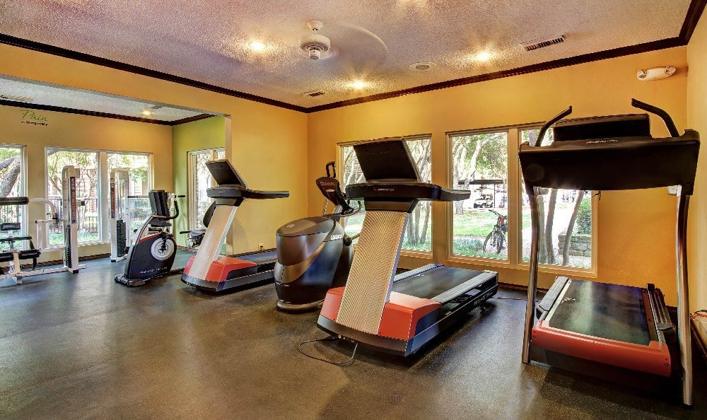 Cardio center for your workout at Marquis at Legacy in Plano, Marquis at Legacy