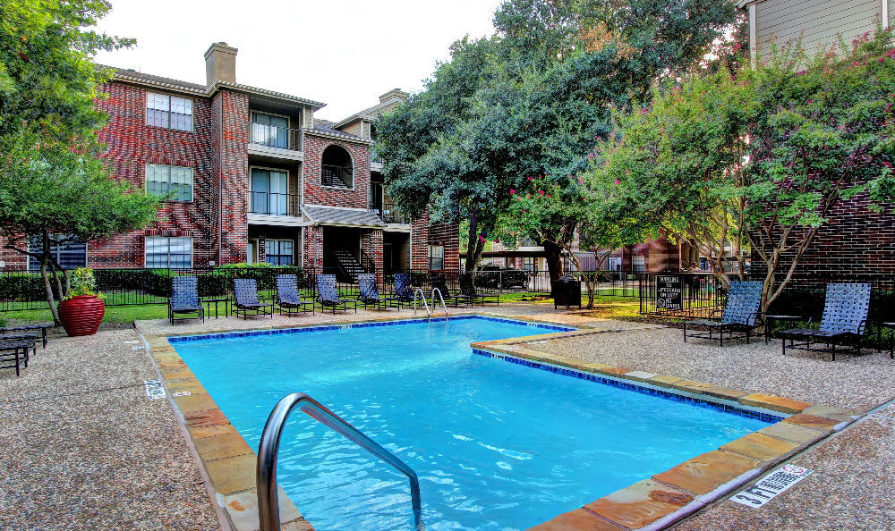 Relax at the swimming pool at Marquis at Legacy in Plano, Marquis at Legacy