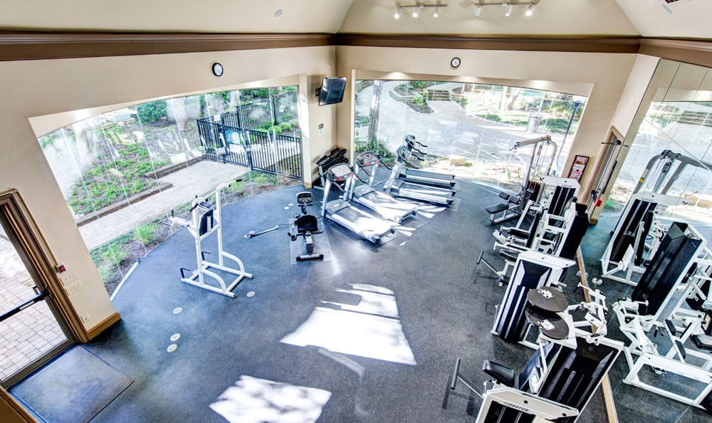 Fitness center of Marquis at Waterview