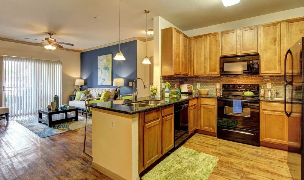 Enjoy the open floorplan at Marquis at The Woodlands in Spring, Marquis at The Woodlands