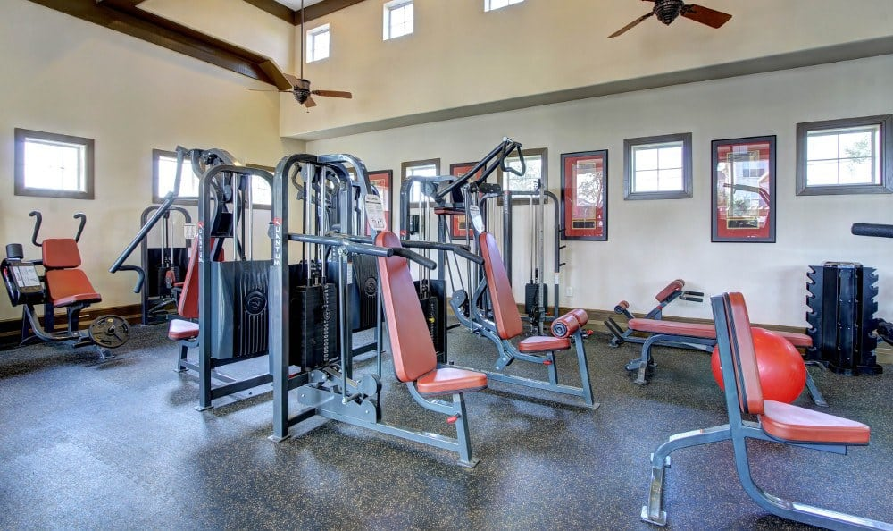Fitness Center at Marquis at The Woodlands