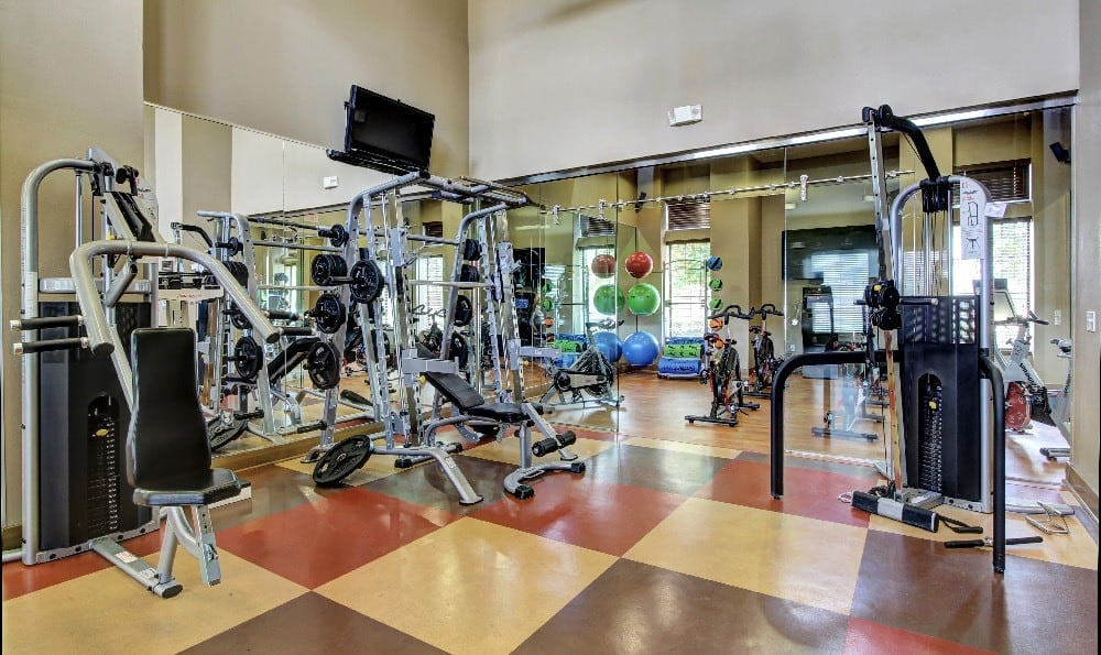 Fitness center at Marquis at Sugar Land in Sugar Land, Marquis at Sugar Land