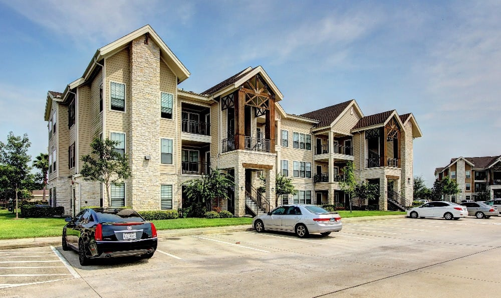 Spacious and covered parking at Marquis at Sugar Land in Sugar Land, Marquis at Sugar Land