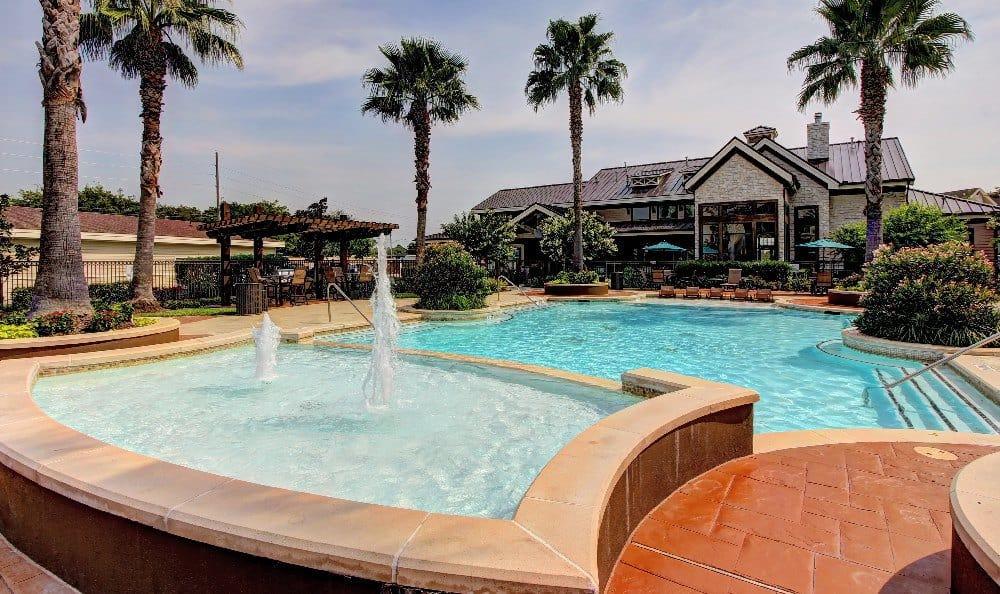 Enjoy a day at the pool at Marquis at Sugar Land in Sugar Land, Marquis at Sugar Land
