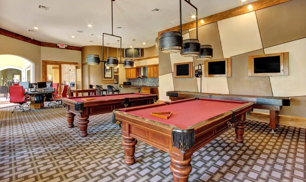 Clubhouse amenities at The Marquis at Clear Lake in Webster, The Marquis at Clear Lake