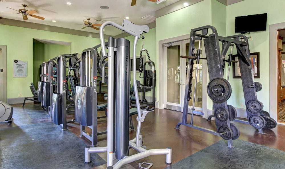Fitness Center at The Marquis at Clear Lake