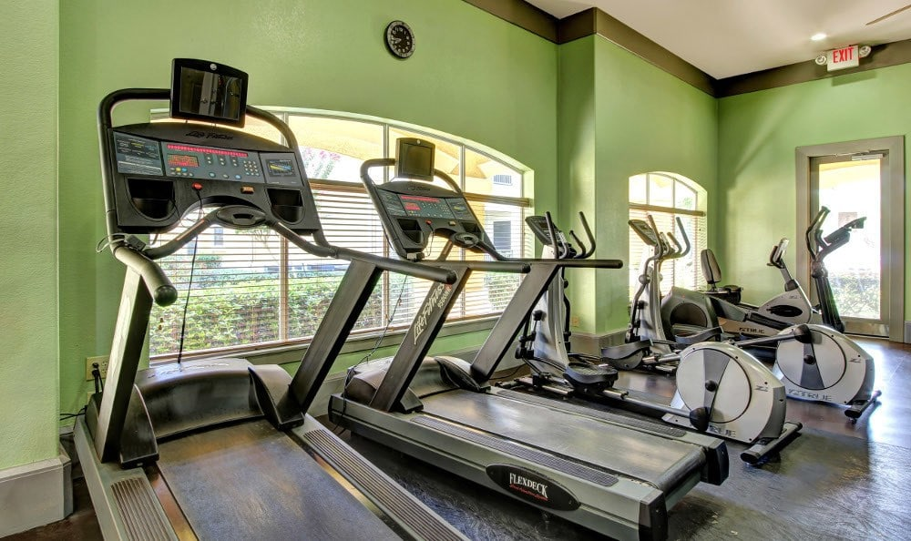 Cardio center at The Marquis at Clear Lake