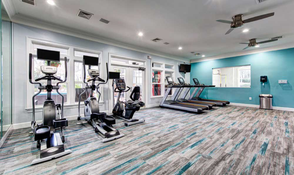 Cardio center at Marquis on Cary Parkway