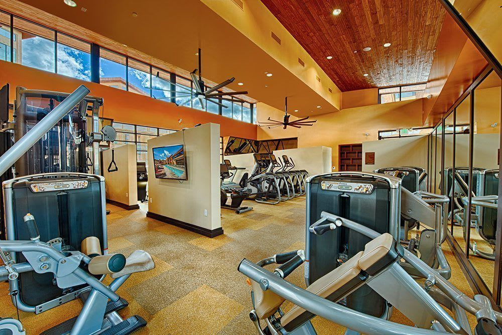 A state of the art fitness community at Marquis at Desert Ridge