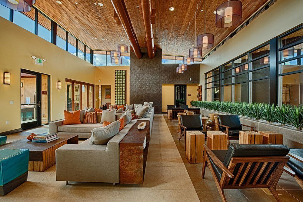 Community clubhouse at Marquis at Desert Ridge