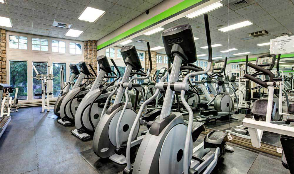 Fitness center at Marquis at the Parkway in Denver, CO
