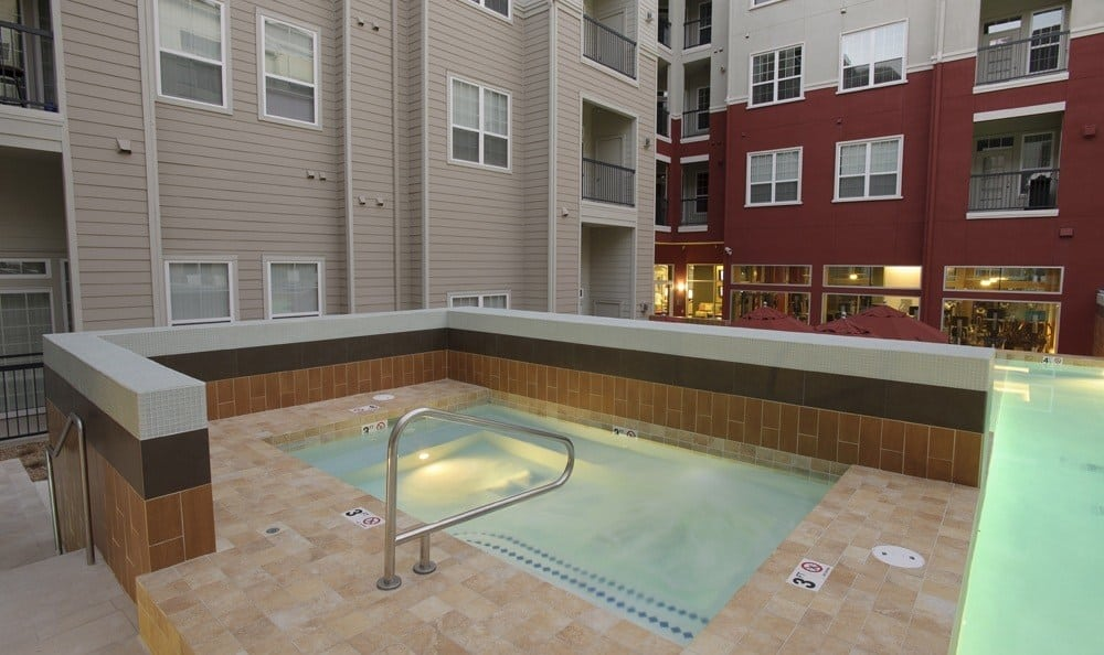 hot tub at The Marq at Ridgegate in Lone Tree, CO
