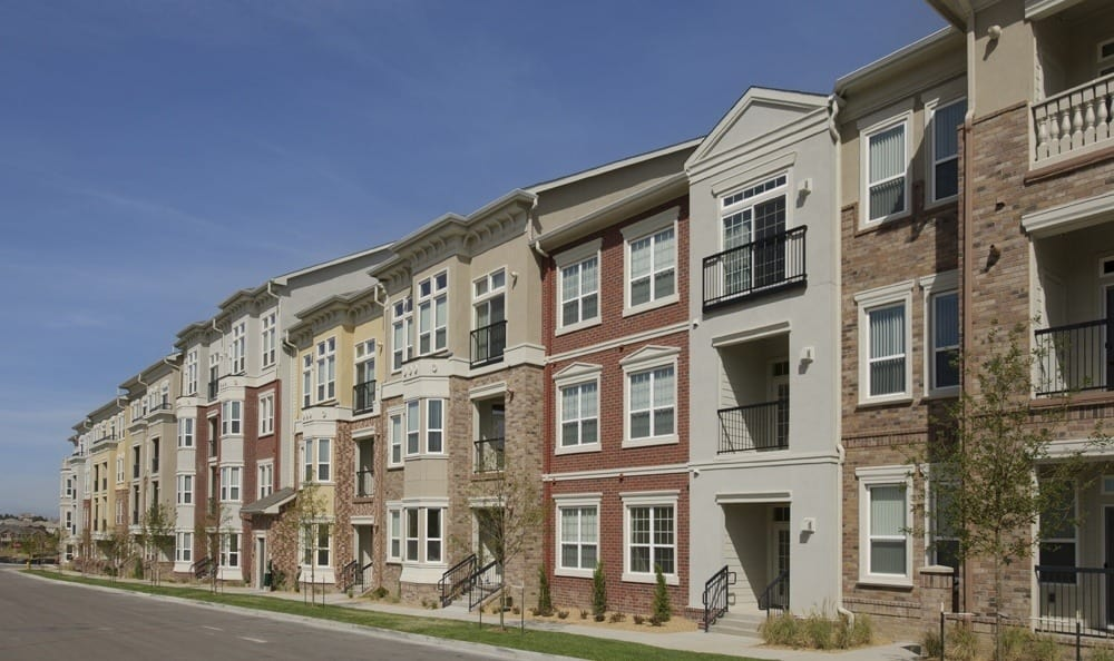 Street view of The Marq at Ridgegate in Lone Tree, CO