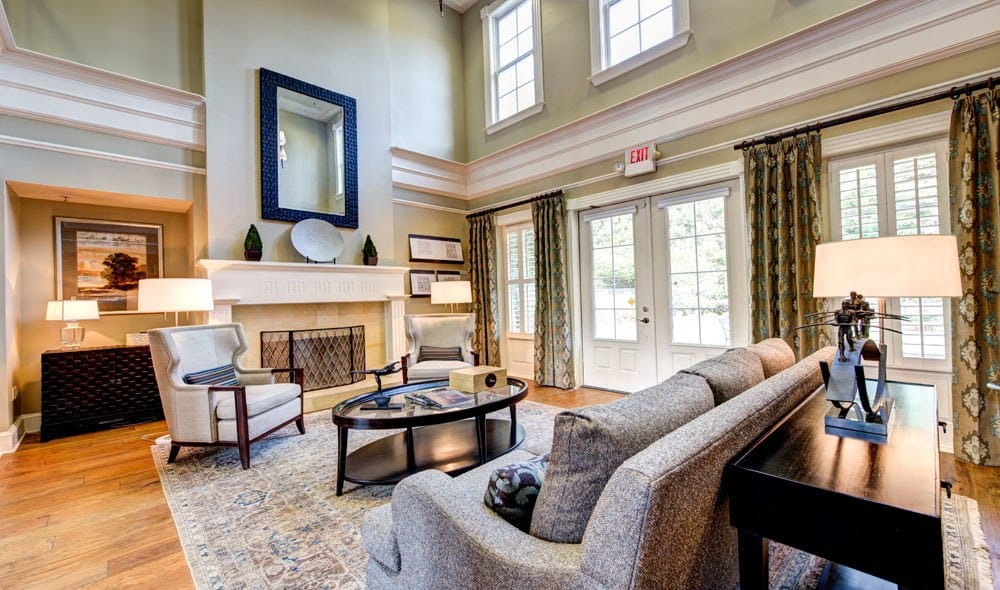 Beautiful clubhouse at The Marq at Brookhaven